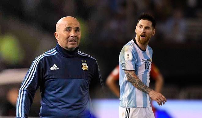 Los increíbles diálogos de Messi con Sampaoli