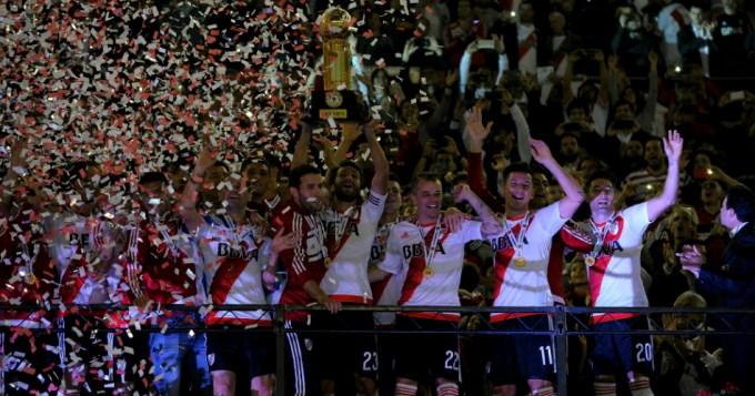 River es bicampeón de la Recopa Sudamericana