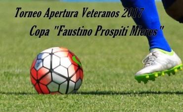 Se jugó una nueva fecha del Torneo de Veteranos de Fútbol