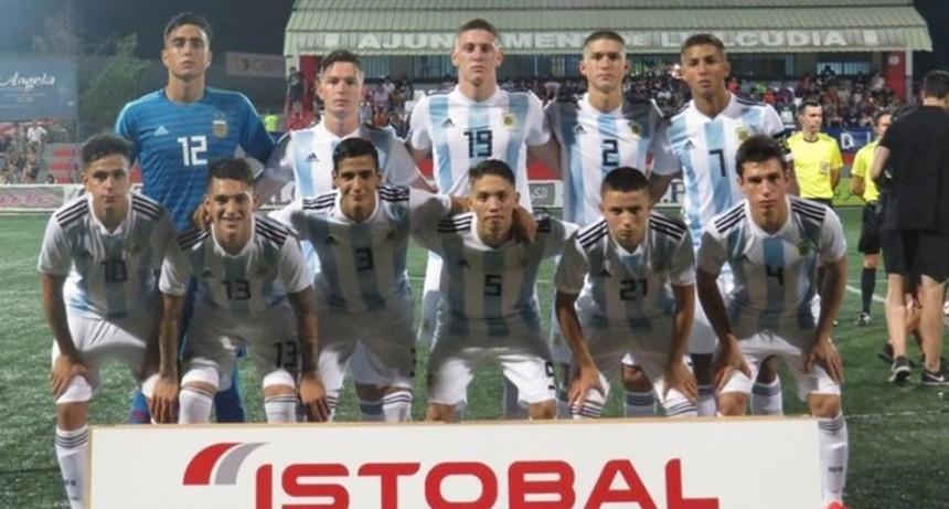la Selección Argentina Sub-20 se consagró en L'Alcudia