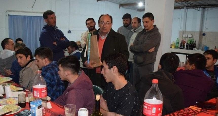 Cena de los campeones en  Del Carril
