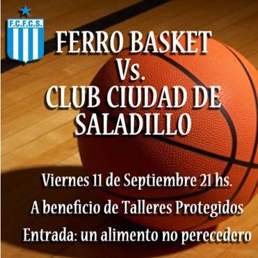 Club Ciudad de Saladillo juega este viernes su primer amistoso ante Ferro de Olavarría