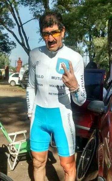 Miguel Lubo fue segundo en Azul