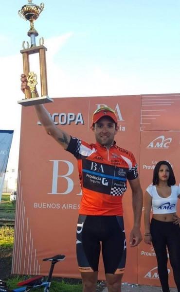 Sebastián Tolosa ganó la Copa Buenos Aires Provincia