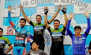 Federico Vivas fue segundo en el 95° Critérium de Mercedes