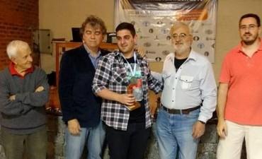 Nelson Lujan campeon Panamericano 2016 en Carilo