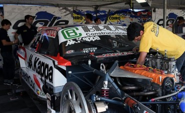 Bruno clasifico 32 y larga en la segunda serie en La Pampa