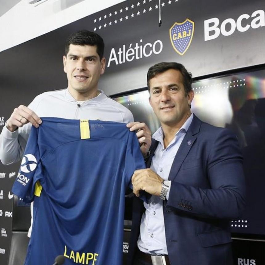 El día que Lampe jugó contra Boca ¡pero en básquet!