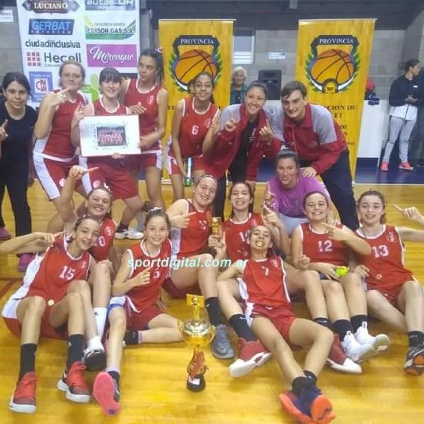 Belén Rojas campeona provincial con la selección de Mar del Plata