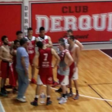 Gran partido de Ciudad ante Derqui, aunque la victoria fue para el puntero e invicto del Provincial
