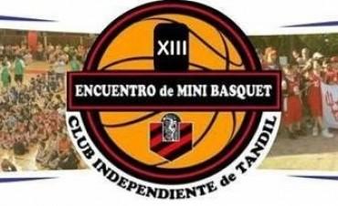 Chicos del club Ciudad de Saladillo en el 13º Encuentro Nacional de Mini