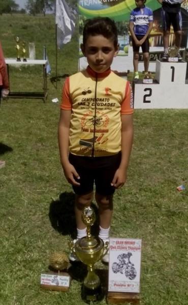 """Uriel Tolosa campeón 2016 en el """"Tres Ciudades"""""""