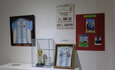Quedó inaugurada la Muestra por el Día del Periodista Deportivo