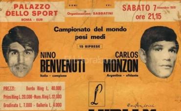 Hace 47 años Monzón conmovía al mundo con su KO al campeón Nino Benvenuti en Roma: así lo contó él