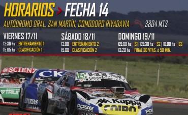 Arranca la actividad del TC en el Autódromo de Comodoro Rivadavia
