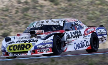 Bruno larga en la tercera serie en Comodoro Rivadavia