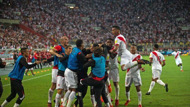 Perú clasificó a un mundial después de 36 años