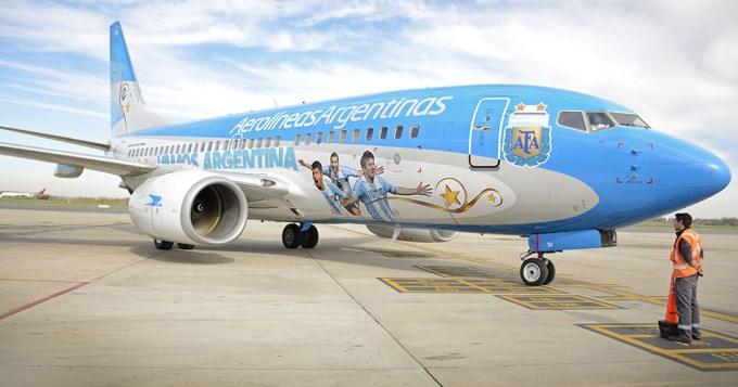 Ahora la Selección Argentina quiere un avión exclusivo