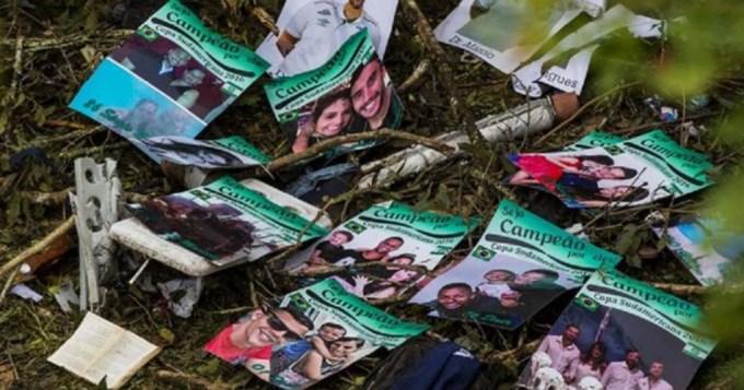 Conmovedor hallazgo entre los restos del avión del Chapecoense