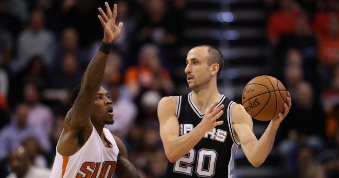 Gran aporte de Ginóbili en otra victoria de los Spurs