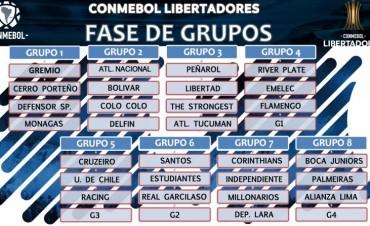 SORTEO DE LA CONMEBOL LIBERTADORES BRIDGESTONE 2018