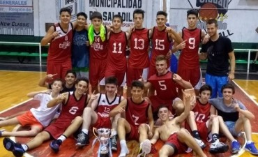 Todos los campeones del torneo de inferiores de la Asociación Basquetbol Chivilcoy