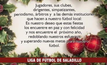 Salutación de la Liga de Fútbol