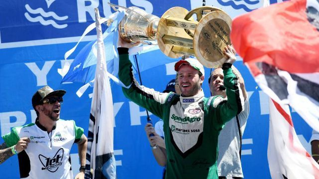 Canapino se consagró campeón del Turismo Carretera
