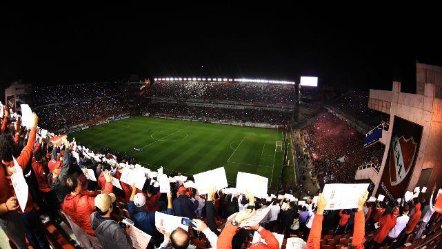 Independiente juega hoy a cancha llena ante Flamengo
