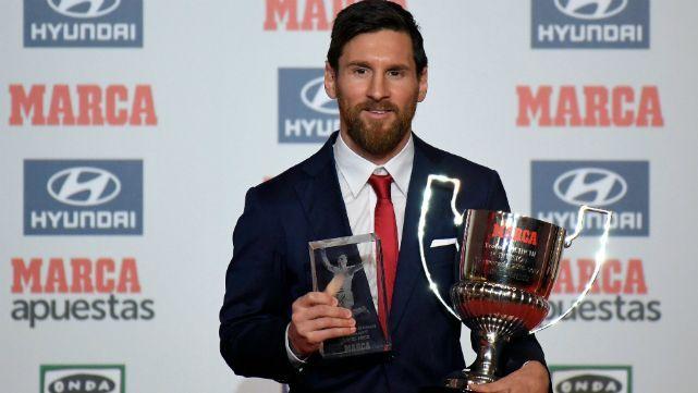 Messi no para de ganar premios