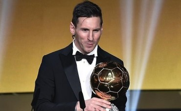 Messi tiene su quinto Balon de Oro