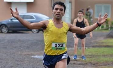 """Ezequiel Aguilera: """"Corrí cómodo desde el kilómetro seis"""""""