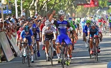 Gaviria gana la segunda etapa y se ubica como lider en el Tour de San Luis