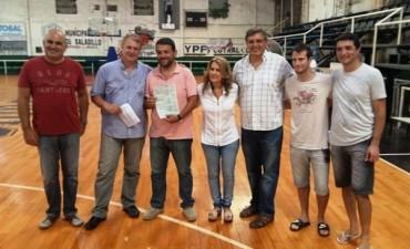 Club Ciudad de Saladillo recibió subsidio de 35000 pesos