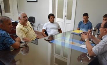 Salomón y Mendez se reunieron con directivos del Club Argentino