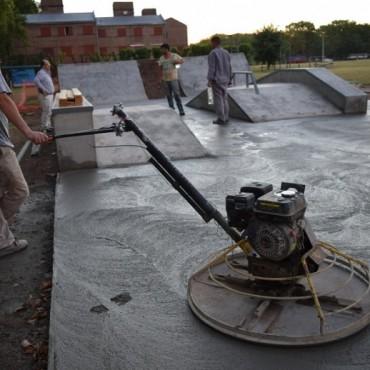 Últimos trabajos en el Skate Park