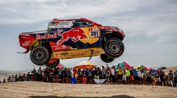 Imagenes de un dificil Dakar 2018