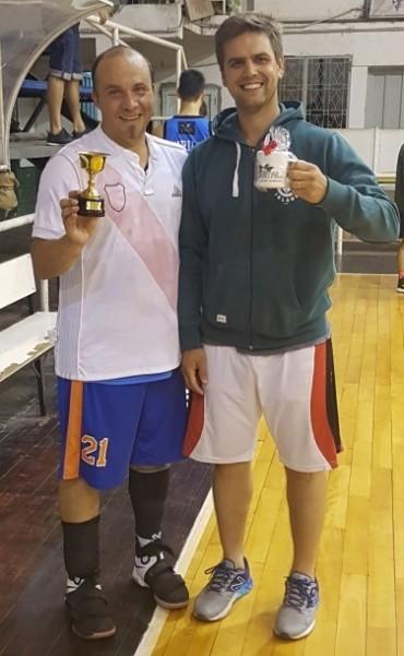 Goleador y MVP del Torneo Clausura del Maxibasquet 2017