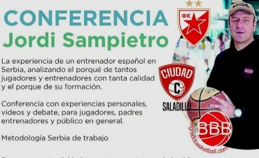 Jordi Sampietro disertara en Saladillo