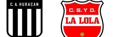 Huracán recibe a La Lola por el Federal C este domingo desde las 20