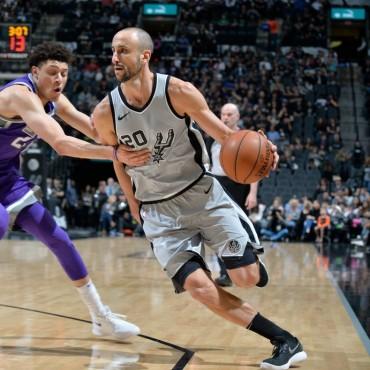Victoria de los Spurs ante los Kings
