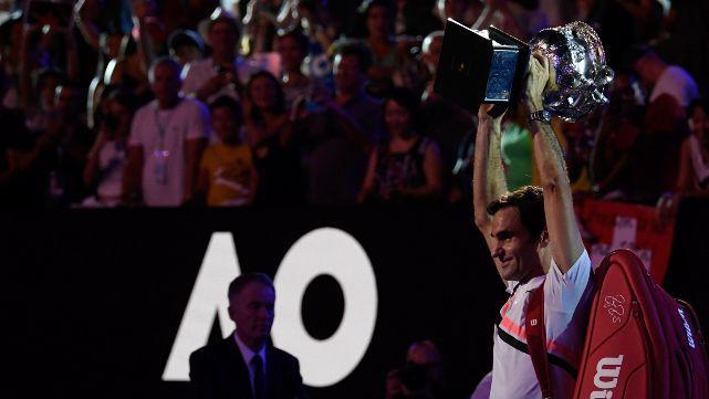 Federer ganó Australia por sexta vez