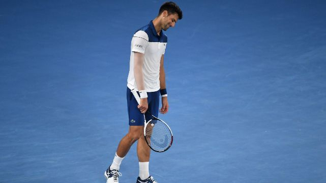 Sorpresa en Australia: Djokovic, eliminado por una joven promesa