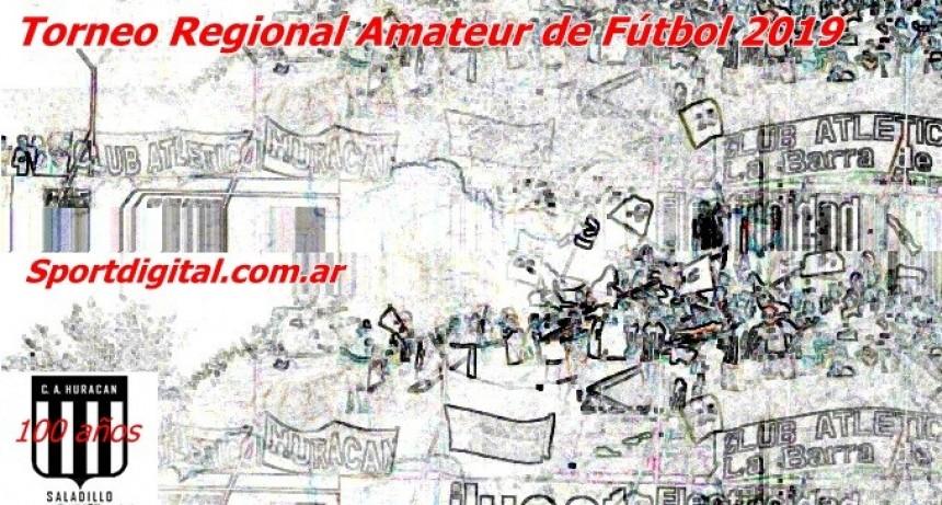 El fixture del Torneo Regional Amateur se conocerá el miércoles 9