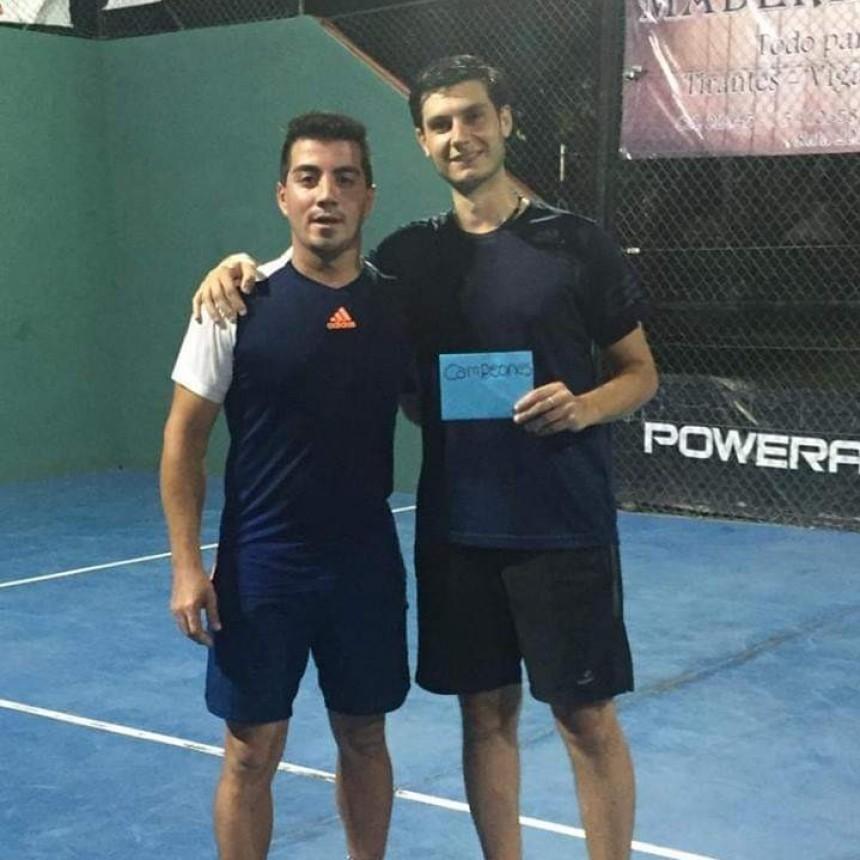 """Daniel García - Luis Mengarelli campeones del """"Suma 11"""""""