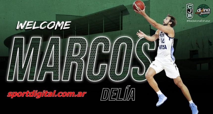 La presentación oficial de Marcos Delía en el Joventut será este jueves