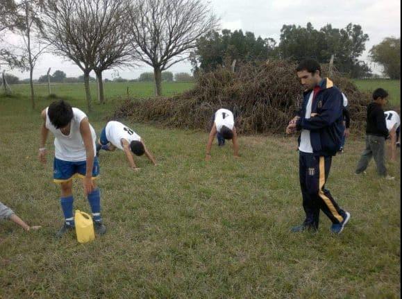 Apeadero nombró a Pablo Damiano como coordinador del Fútbol