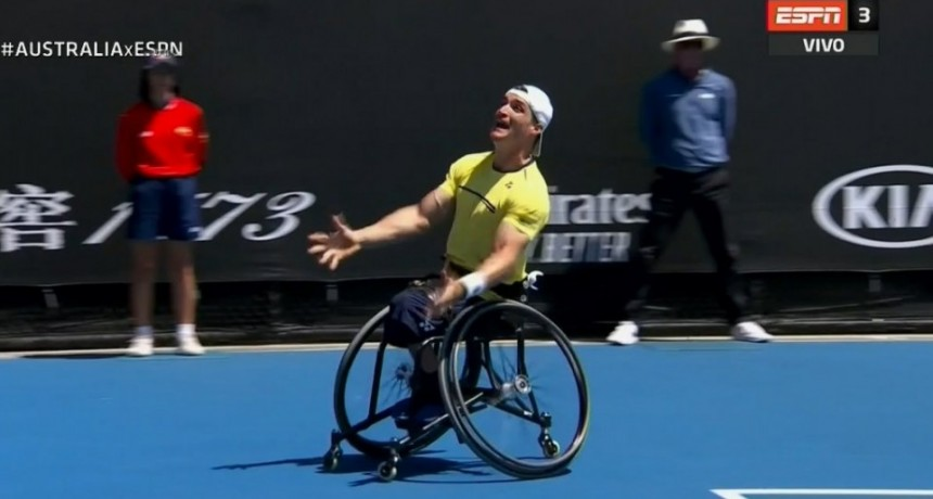 Gustavo Fernandez campeón en Australia