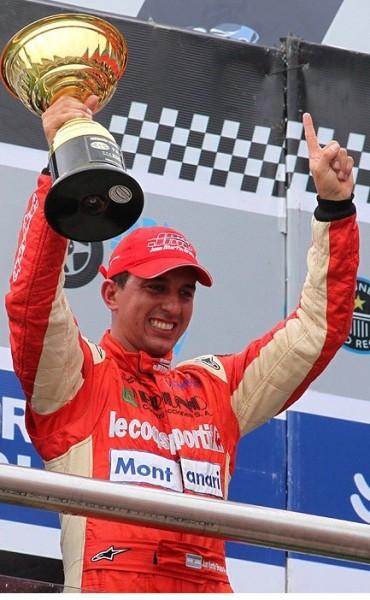 Juan Martín Bruno prueba hoy en el Autódromo de Olavarría