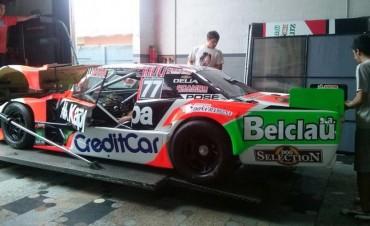 Pensando en el debut Bruno prueba hoy su TC en Olavarría
